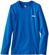 Fila Big Boys' Long Sleeve Classic Compression Top