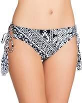 Coco Rave Playa Cool Lace Up Bikini Bottom, S