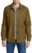 Eddie Bauer Men's Legend Wash Flannel-Lined Shirt Jacket