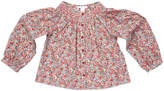 Marie Chantal Smock Liberty Print Top