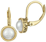 The Sak Faux Pearl Lever Back Earrings