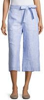 Context Tie-Front Linen Pants