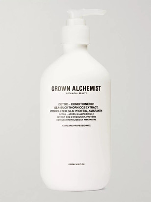 GROWN ALCHEMIST Detox Conditioner 0.1 - Sea-Buckthorn CO2 Extract, Hydrolysed Silk Protein & Amaranth, 500ml - Men - Colorless