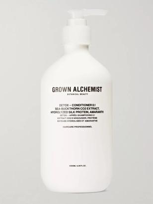 Grown Alchemist Detox Conditioner 0.1 - Sea-Buckthorn Co2 Extract, Hydrolysed Silk Protein & Amaranth, 500ml