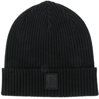 Moose Knuckles Ribbed Knit Beanie