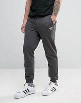 Tokyo Laundry Slim Fit Cuffed Jogger with Badge Logo