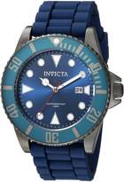 Invicta Men's 'Pro Diver' Quartz Stainless Steel and Silicone Casual Watch, Color: (Model: 90306)