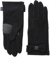 Echo Touch Bow Detail Gloves