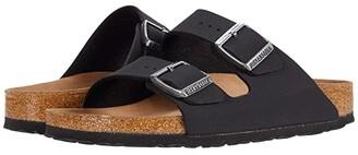 Birkenstock Arizona Vegan (Latte Cream Birkibuc) Sandals