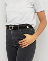 Pieces Leather Metal Tip Belt