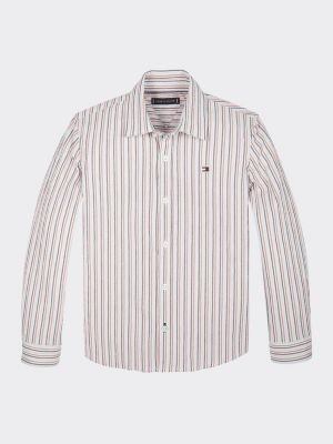 Tommy Hilfiger Stripe Pure Cotton Shirt