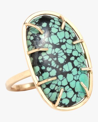Melissa Joy Manning Turquoise Matrix Ring