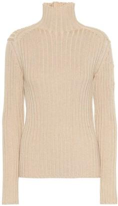 Chloã© Wool-blend turtleneck sweater