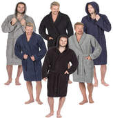 Mens Pierre Roche Luxury 100% Cotton Soft Terry Bath Spa Robe Dressing Gown