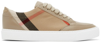 Burberry Beige New Salmond Sneakers