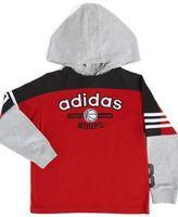 Adidas toddler layered hoodie shirt