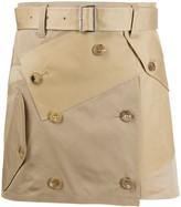 Junya Watanabe deconstructed utility mini skirt