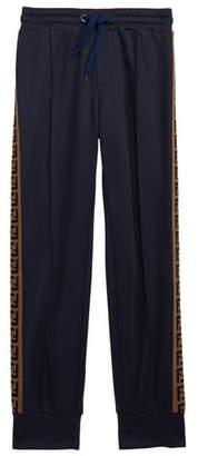 Fendi Logo Stripe Track Pants