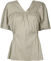 ASTRAET v-neck blouse - women - Cotton - One Size