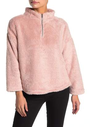 Love by Design Plush Half Zip Pullover