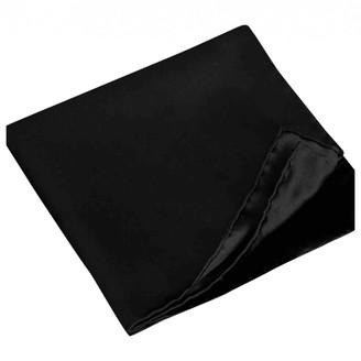Burberry Black Silk Scarves & pocket squares