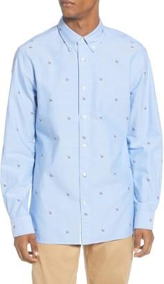 Tommy Hilfiger Regular Fit Logo Button-Down Shirt