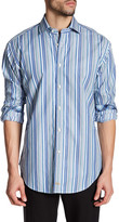 Thomas Dean Striped Long Sleeve Shirt