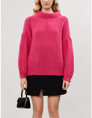 BA&SH Emma chunky-knit alpaca-blend jumper