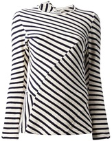 Comme des Garcons Junya Watanabe striped top