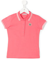 Moncler classic polo shirt - kids - Cotton/Spandex/Elastane - 8 yrs