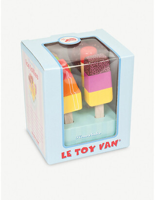 Le Toy Van Wooden ice lollies set