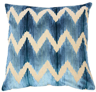 The Piper Collection Mary 22x22 Pillow - Blue Velvet