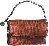 Stella McCartney Stella Mc Cartney Falabella Orange Tweed Handbags