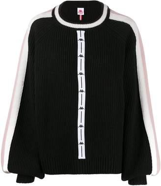 Kappa ribbed knit jumper