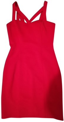 GUESS Red Cotton Dress for Women