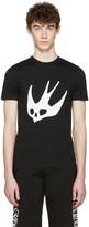 McQ by Alexander McQueen Black Swallow T-Shirt