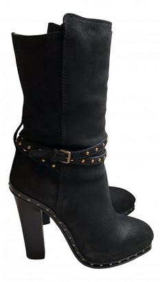 Miu Miu Brown Leather Boots