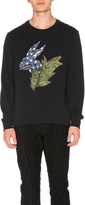 Burberry Rabbit Flock Print Sweatshirt