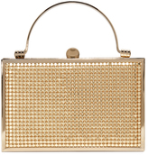Whiting & Davis Bond Street Box Clutch