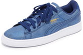 Puma Basket Denim Sneakers