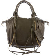 Linea Pelle Grained Leather Satchel