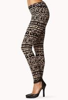 Forever 21 Tribal Print Leggings