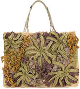 Jamin Puech knitted shopper tote