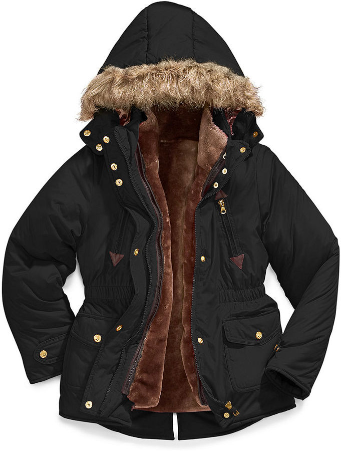 Hawke & Co Kids Jacket, Girls 4-in-1 Jacket