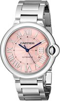 Cartier Women's W6920041 Ballon Bleu Analog Display Automatic Self Wind Silver Watch