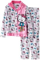 Hello Kitty Girls 4-10 Polka Dot & Star Pajama Set