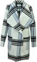 Katherine Barclay Plaid Pea Coat