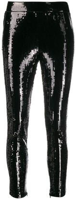 MICHAEL Michael Kors cropped sequinned leggings