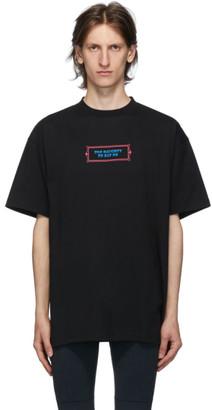 Vetements Black Too Naughty T-Shirt