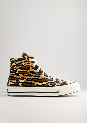 Converse Wacko Maria Chuck 70 Hi Sneaker in Brown/Egret/Black